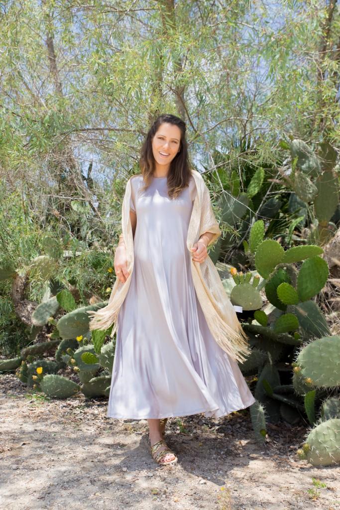 שמלת ערב להריון צנוע