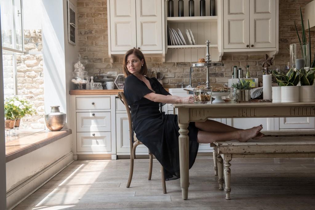 רונית יודקוביץ במטבח