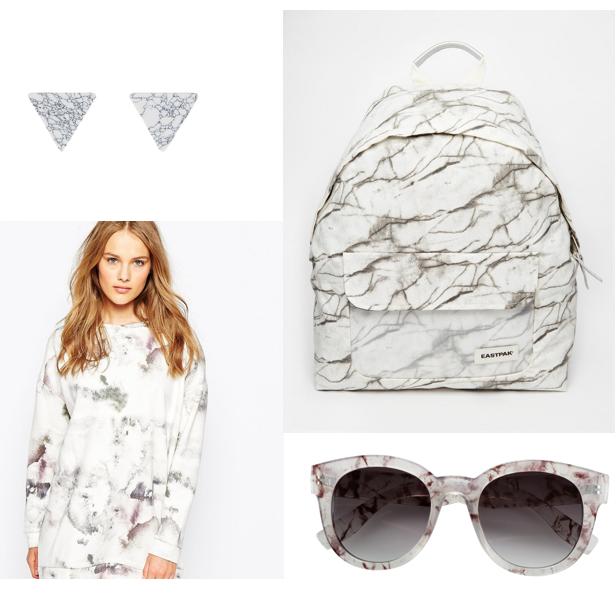 טופ ותיק אסוס עגילים ומשקפיים H&M