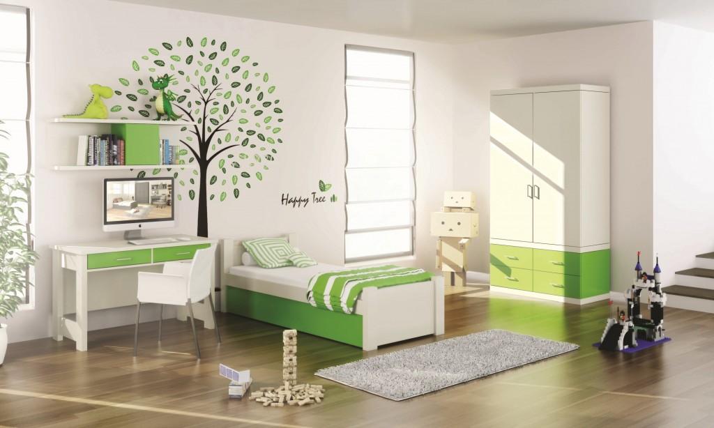 חדר ילדים ירוק, רהיטי דורון
