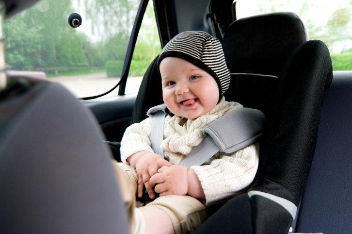 זהירות תינוק באוטו