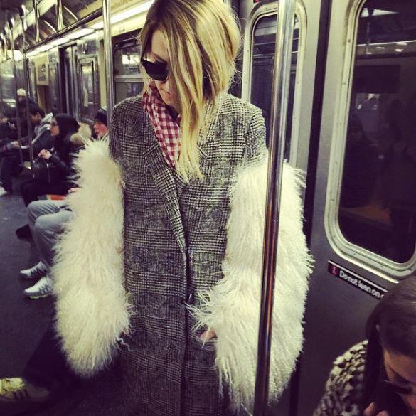 בדרך לשבוע האופנה בניו יורק