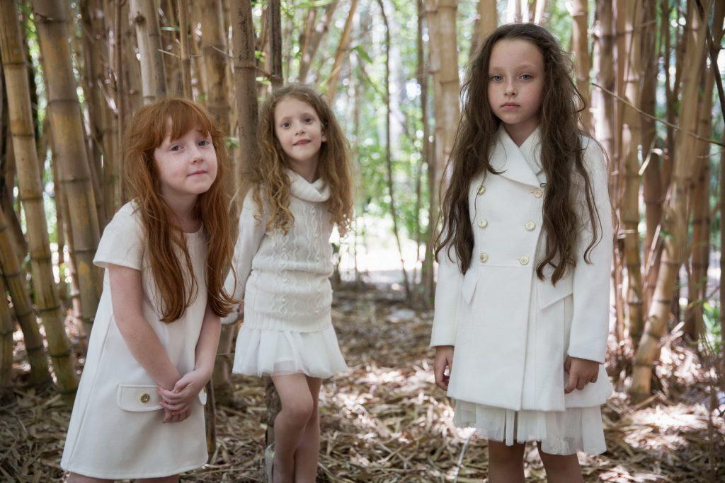 הילדות של קסטרו בקולקציה חגיגית ולבנה, מי אמר שלבן לא הולך בחורף?!