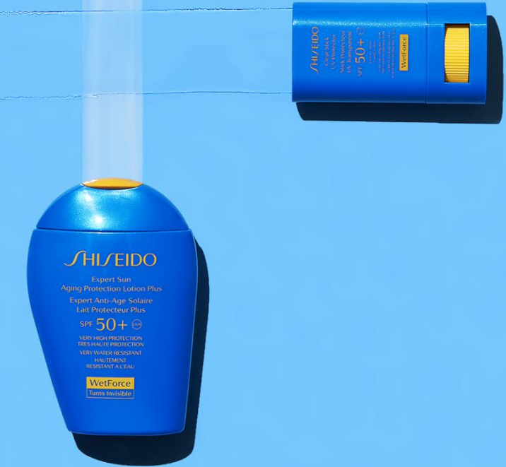"""קולקציית המוצרים חדשים להגנה מפני נזקי השמש לקיץ 2019 Shiseido מחיר 149 ש""""ח"""